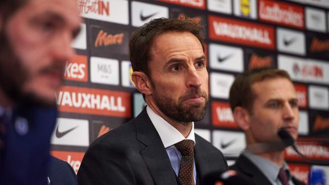 England's manager Gareth Southgate.