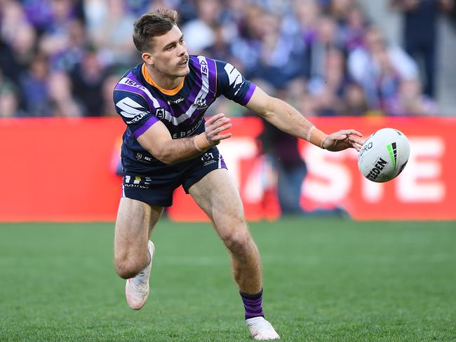 Storm fullback Ryan Papenhuyzen is irresistible at his starting SuperCoach price. Picture: Quinn Rooney/Getty Images