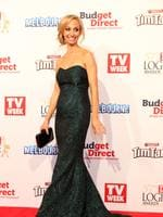 Lisa Chimes on the red carpet at the 2015 Logie Awards at Crown Casino in Melbourne. Picture: Julie Kiriacoudis