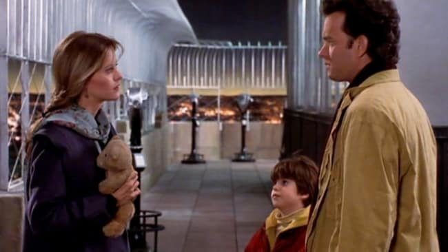 Meg and Tom in Sleepless in Seattle. Photo: Supplied