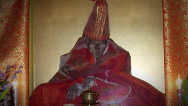Biksu Mumi Jepang.