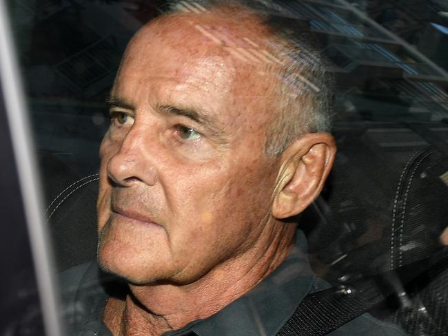 Chris Dawson is expected to reappear in court today. Picture: Dan Himbrechts/AAP