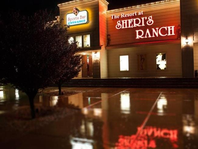 Sheri's Ranch, a legal brothel in Nevada. Picture: Sheri's Ranch