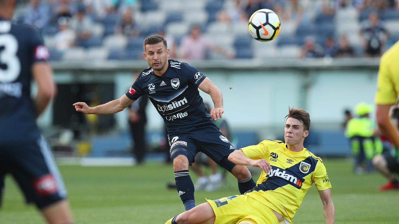 Melbourne Victory have played several games in Geelong, where Western Melbourne will play. (Photo by Graham Denholm/Getty Images)