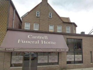 The Detroit funeral home where to bodies of 11 babies were found. Picture: Supplied Source: Supplied