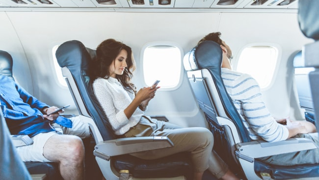 Boarding a plane may indicate that in your waking life you are about to embark on a big journey, a project or even a move in a new direction. Image: iStock.