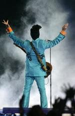 In this Feb. 4, 2007 file photo, Prince performs during the halftime show at Super Bowl XLI at Dolphin Stadium in Miami. Picture: AP Photo/Chris Carlson