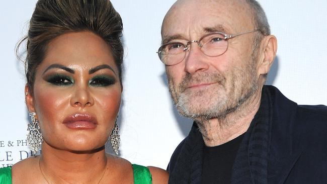 Phil Collins Orianne Cevey: Musician's wife claims he didn't shower for several months – NEWS.com.au