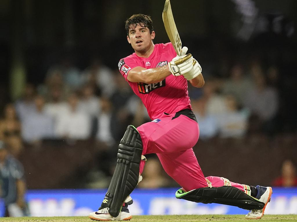 Moises Henriques of the Sixers struck it large in Round 11