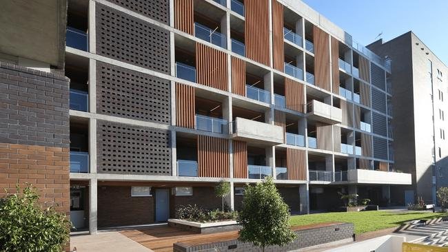 City West Housing Affordable housing project at North Eveleigh designed by architectural firm Architectus. Supplied