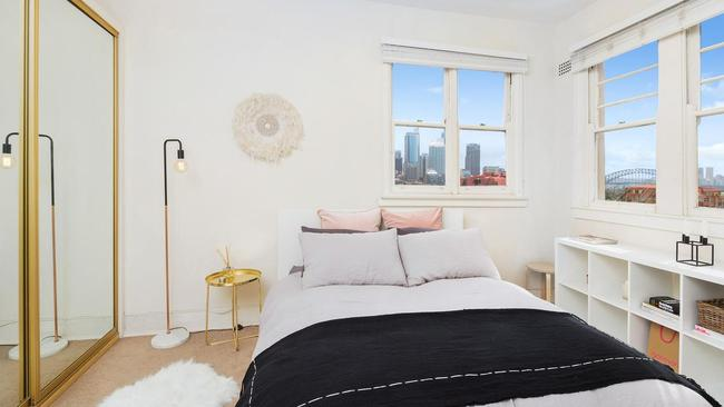 Company title apartments, like this one bedroom unit in Potts Point that sold for $701,000 recently, are cheaper. But do your research.