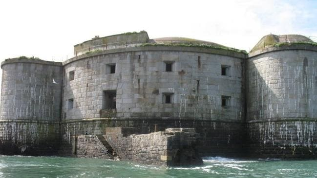 It was built in 1850 to defend against the French. Stack Picture: Wales News Service/australscope