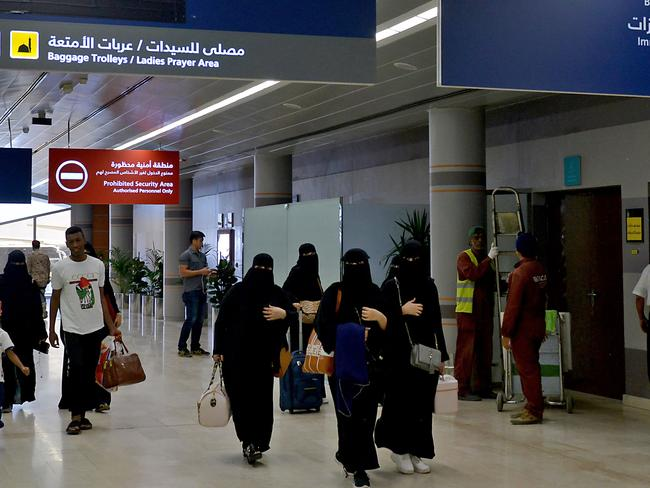 Saudi women can now travel without securing the permission of a male. Picture: Fayez Nureldine/AFP