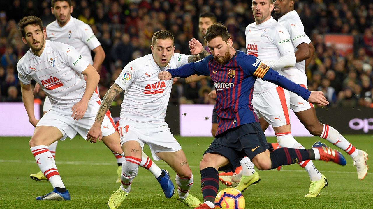 Lionel Messi news: Barcelona v Eibar result, goals, video