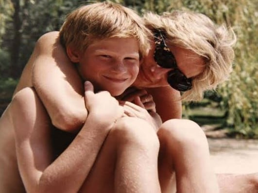 Prince Harry is just one year younger than Princess Diana when she died. Picture: Supplied