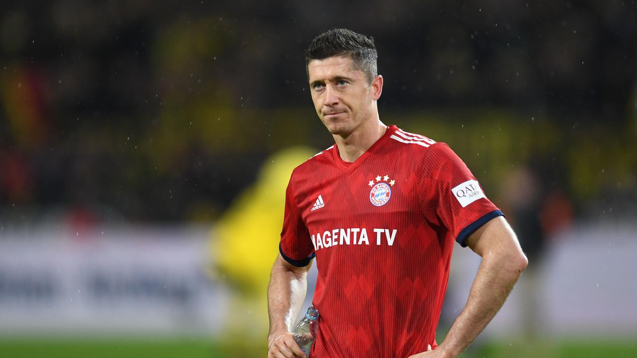 Bayern Munich striker Robert Lewandowski is one of many players making financial contributions towards the fight against coronavirus.