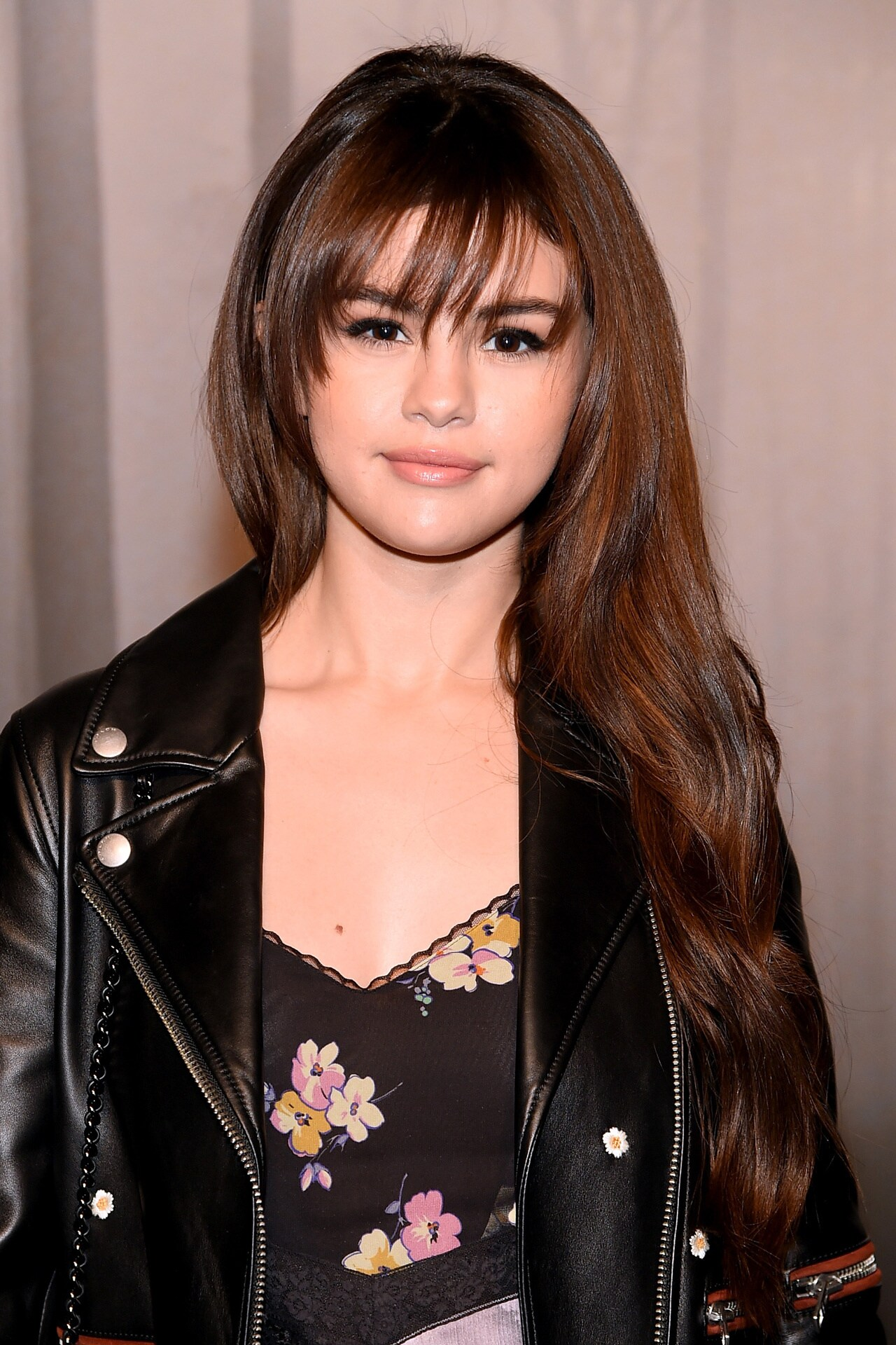 Selena Gomez at the Coach autumn/winter '18/'19 show. Image credit: Getty Images