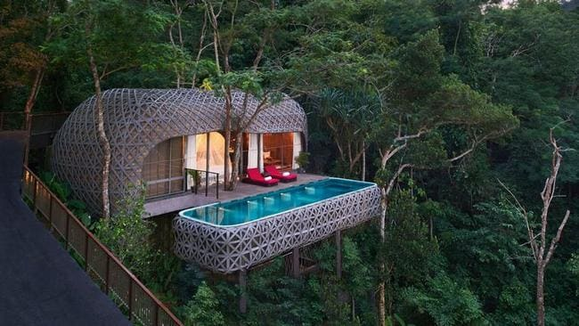 Keemala treehouse hotel, in Thailand. Picture: Supplied