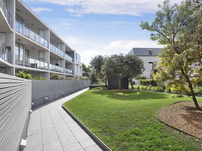 The grounds of Dee Why Grand at 10 Sturdee Pde, Dee Why.