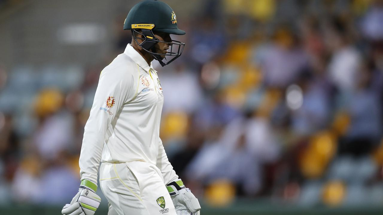 Usman Khawaja is far from the lock he was at the start of the summer.