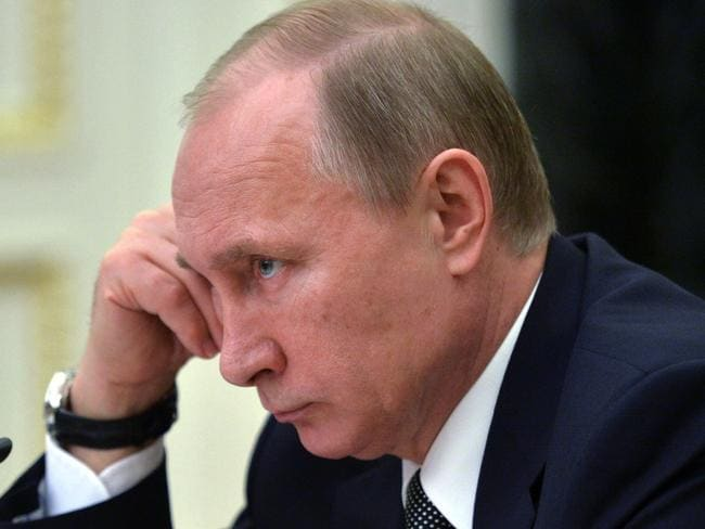 An MH370 expert has suggested that Russian President Vladimir Putin may have ordered the hijacking of the flight. Picture: AP Photo/RIA Novosti, Alexei Druzhinin, Presidential Press Service