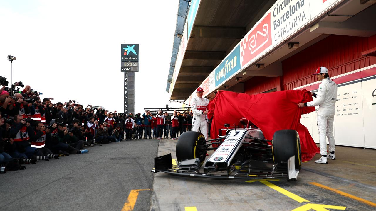 Some teams opt to reveal their cars at pre-season testing.
