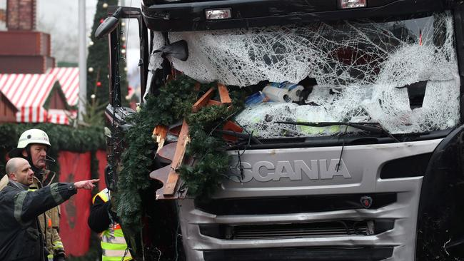 The truck. Pic: AP