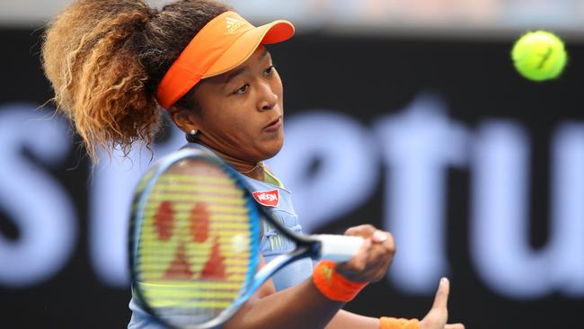 Naomi Osaka will be at the Brisbane Intenational in January. Picture Mark Kolbe/Getty Images