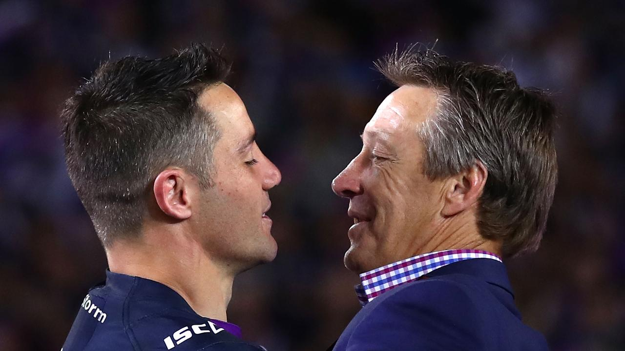 Craig Bellamy is expecting Cooper Cronk to suit up for the grand final.