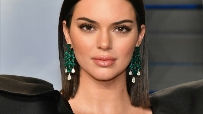 Kendall Jenner has been open about her skin issues. Image: AAP