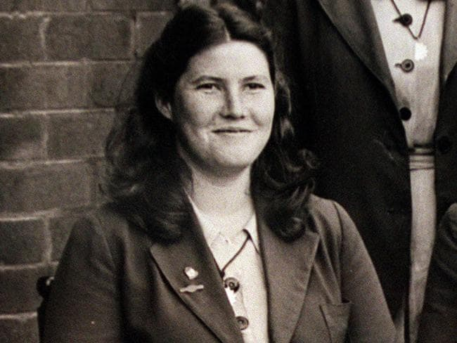 As a school student ... author Colleen McCullough as a student at Holy Cross College, Woollahra in NSW,