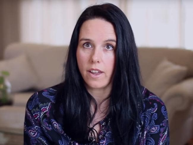 Cella White appears in the 'say no to same sex marriage' campaign TV advertisement.