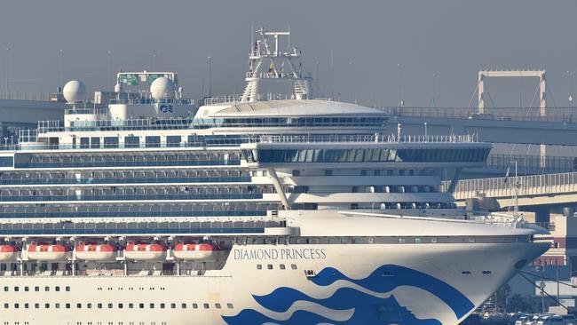 Virus ship gripped by full-blown outbreak