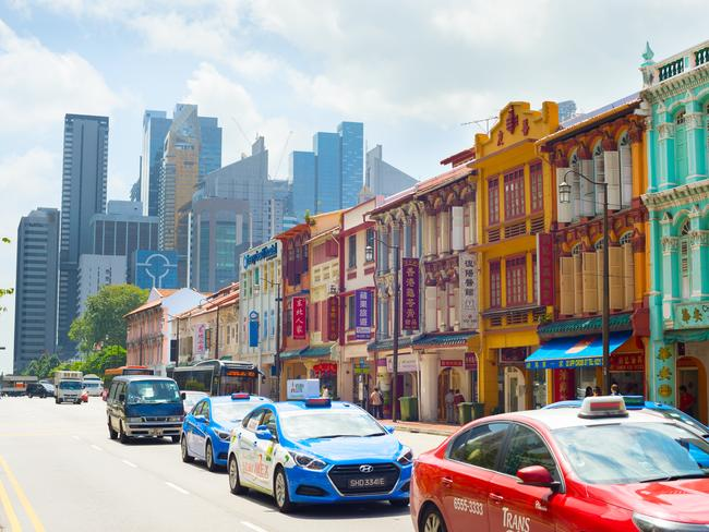 Taxis are a convenient way to get around Singapore — as long as you have cash.
