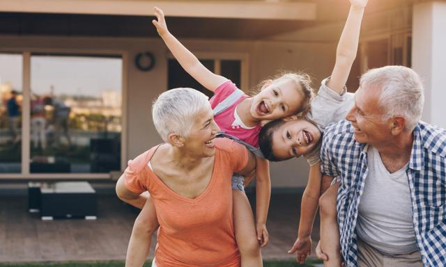 'I chose not to enlist the grandparents, either.' Image: iStock.