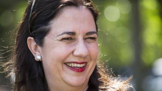 Annastacia Palaszczuk is expected to be able to form majority government. Picture: AAP Image/Glenn Hunt