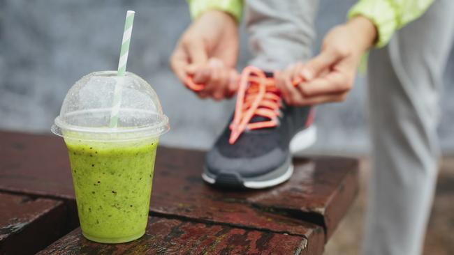 Exercise and smoothies can go hand in hand. Just stick to one with few ingredients.