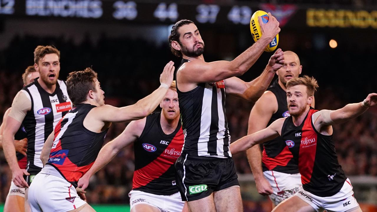 Collingwood and Essendon will face each other twice in the 2020 season, among a host of other sides. Photo: Scott Barbour