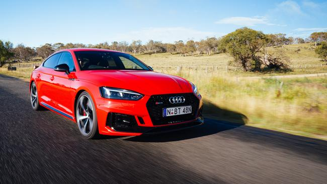 The RS5 Sportback is faster and more efficient than its predecessor.