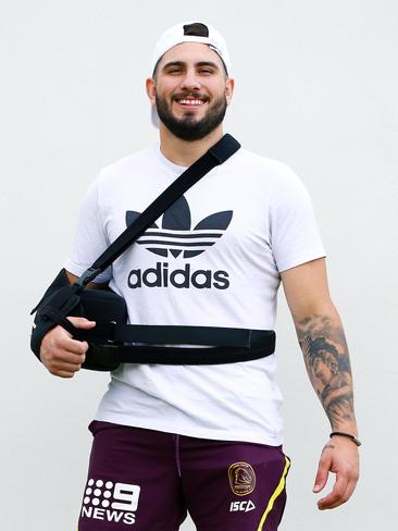 Jack Bird during Brisbane Broncos training.