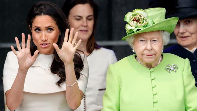"""The Queen is reportedly """"disappointed"""" in Meghan and Harry. Picture: Getty Images."""