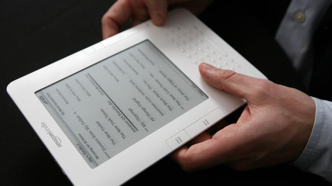 Aussie e-book sales revenue is tipped to fall 31 per cent in the five years to 2022.