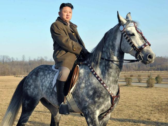 Kim Jong-un was named 2012's Sexiest Man Alive, by China's Communist Party newspaper. Picture: AFP
