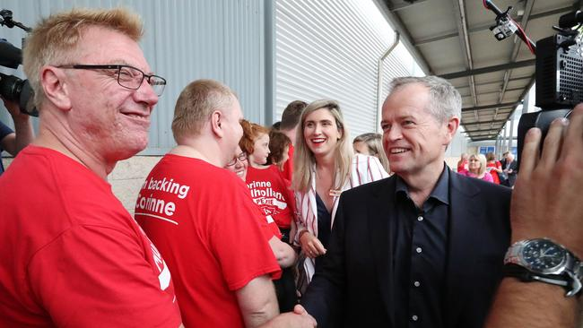 Labor will pledge $500 million to upgrade and expand emergency facilities at public hospitals. Picture: Liam Kidston