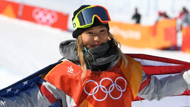 An incredible performance from Chloe Kim clinched the gold medal.