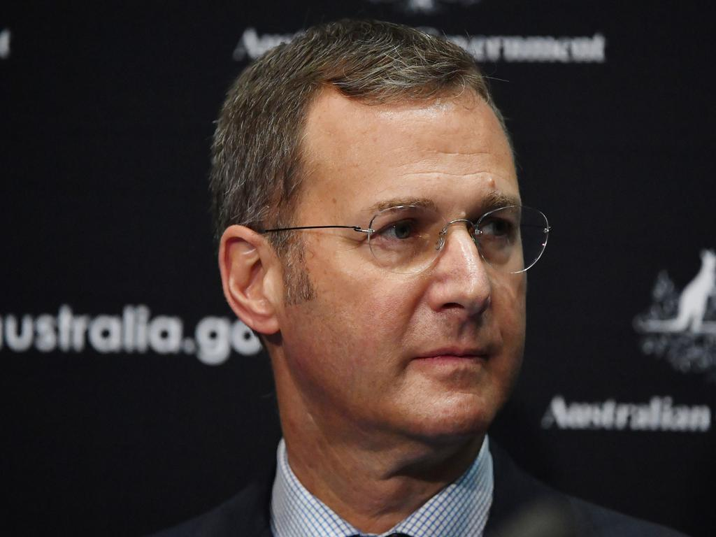Deputy Chief Medical Officer Professor Michael Kidd. Picture: AAP Image/Mick Tsikas
