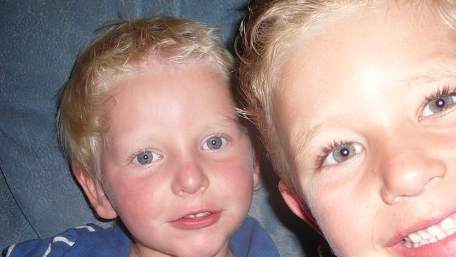 Brothers Chase and Tyler Robinson died of carbon monoxide poisoning from a gas heater.
