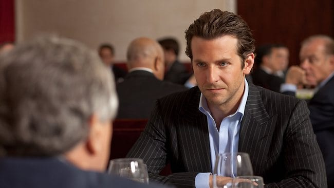 Actor Bradley Cooper in a scene from film the film Limitless.