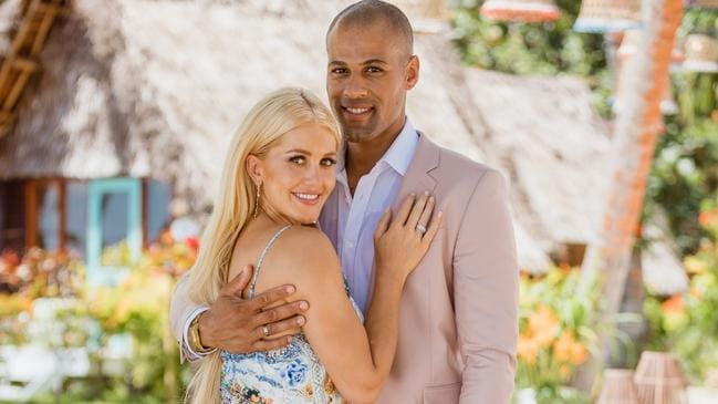 Grant Kemp has accused Ali Oetjen of cheating after their appearance on Bachelor in Paradise. Picture: Network 10