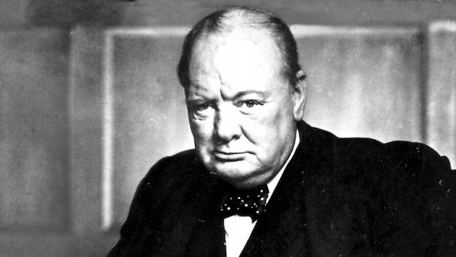 Mr Churchill was seen as vital to the British war effort during WWII. Picture: Supplied